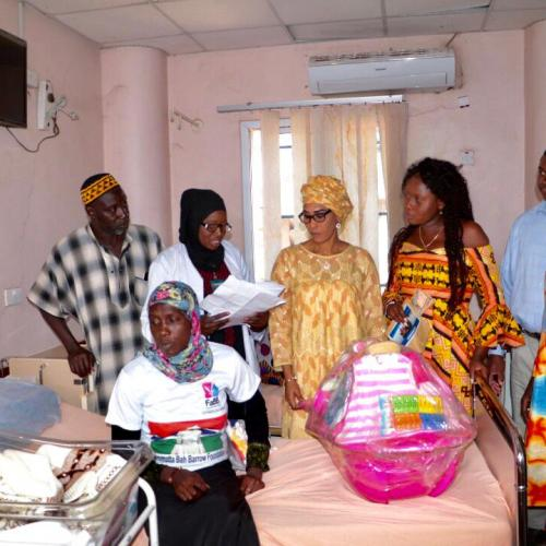 Press Release   Minister lauds FaBB's contribution towards modernisation of hospitals   State