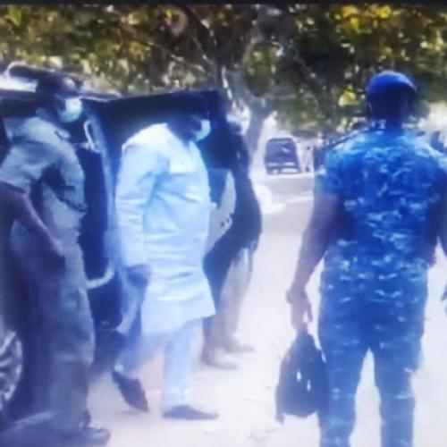 President Barrow pays his last respects to late driver